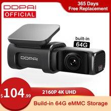 DDPAI Dash Cam мини 5 UHD DVR Android автомобильный Камера 4K с встроенным Wi-Fi и GPS 24 часа в сутки парковка 2160P автоматического привода автомобиля Видео Recroder...