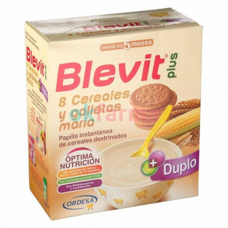 Blevit Plus 8 Cereals AND Cookie Mary 600 GR