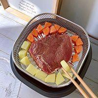 「香嫩牛排-空气炸锅版」的做法图解2