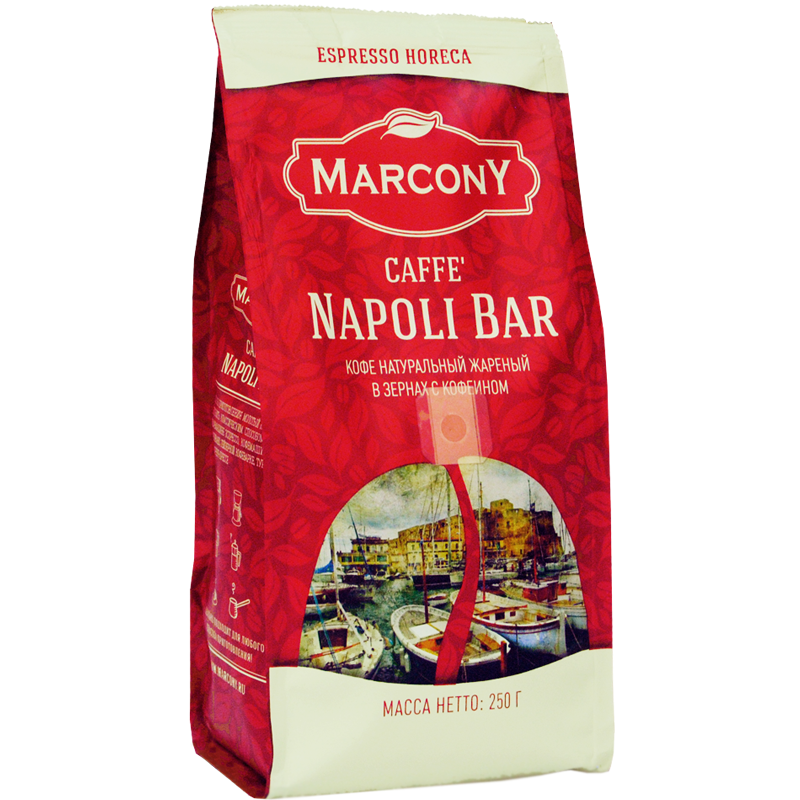 Coffee beans marcony Napoli bar 250g