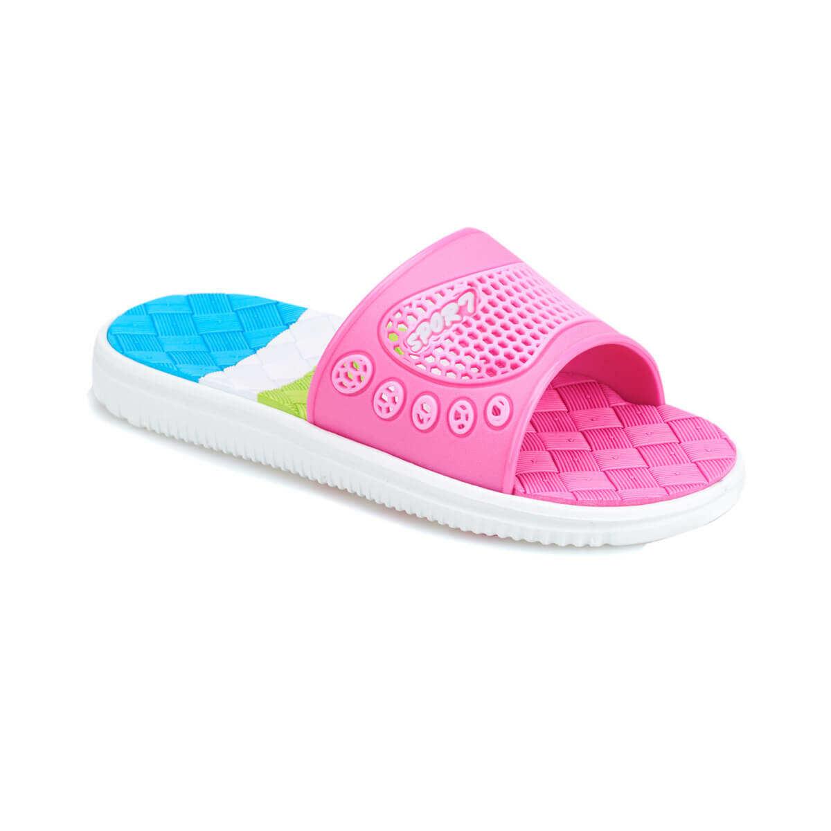 FLO NAGEL Fuchsia Male Child Slippers KINETIX