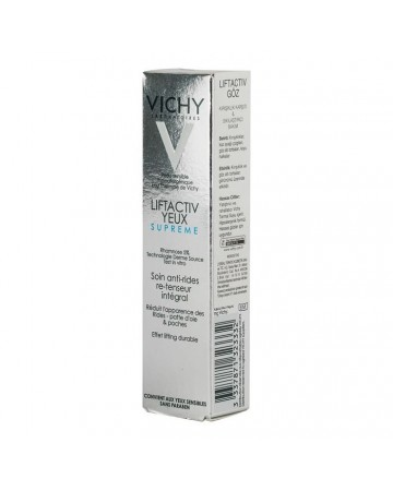 Vichy LiftActiv Supreme Eyes 15ml Eye Anti-wrinkle And Firming Action Care Cream.