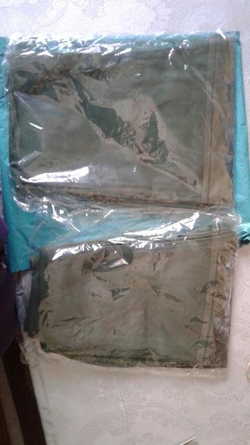 Calças algodão elástico cintura