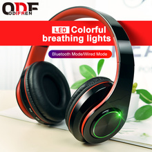 LED Mp3 Headphone Bernapas