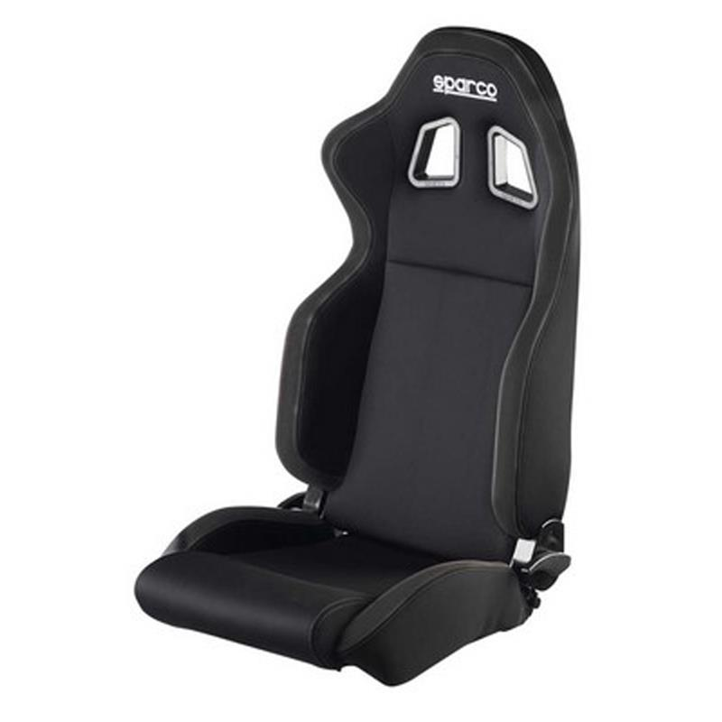 00961NRRS Sparco Seat R100 Black Network Fabric
