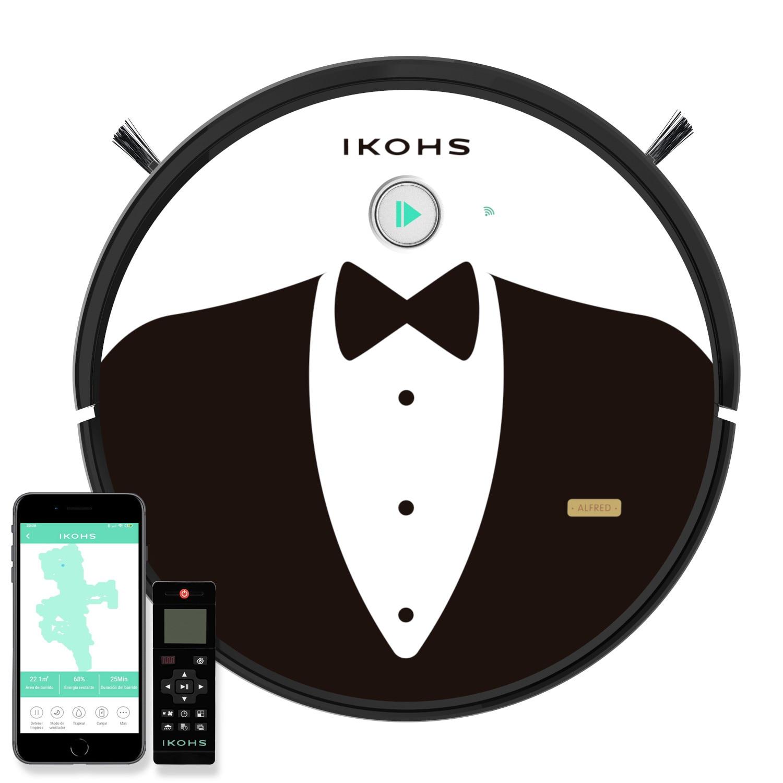 Aspirateur NETBOT S15 IKOHS application intelligente Alexa + Google soins de la maison Animale 5 modes de nettoyage 1500pA 600ml + 400ml - 2