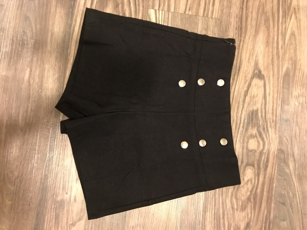 Summer Fashion Sexy Women Slim High Waist Shorts Hot Shorts Casual Solid Skinny Side Zipper Button Tumblr Hipster Shorts photo review