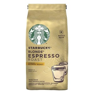 STARBUCKS®Blonde Espresso Roast, coffee bean 200g