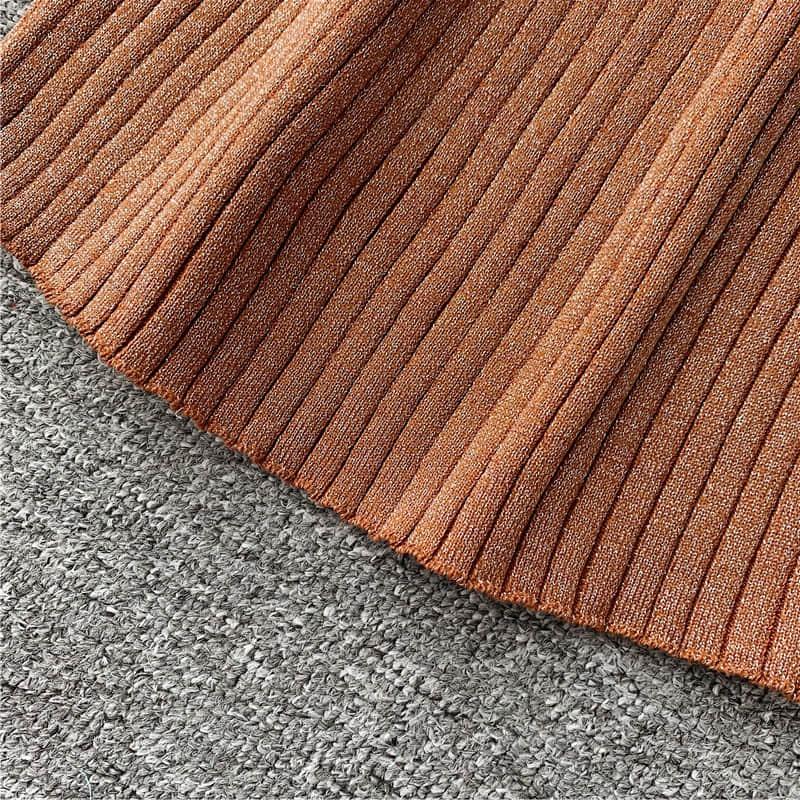 2019 knit sweater dress Women Slim Autumn Winter V neck Openwork Long sleeved Knit Dress Medium Long Over the Knee Base Dress in Dresses from Women 39 s Clothing