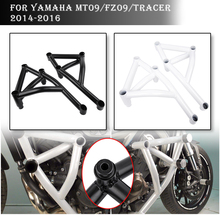 Stunt Cage Engine Guard Crash bar for Yamaha MT09 FZ09 MT FZ 09 Tracer MT-09 FZ-09 Falling Protection Motorcycle Accessories
