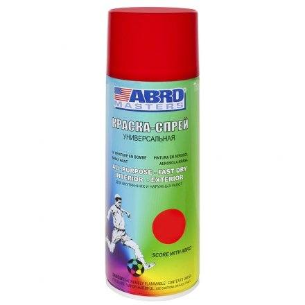 Paint spray Abro Masters (red) ...