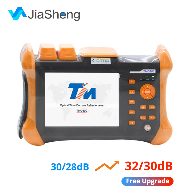 TMO-300-SM-B 1310/1550nm 32/30 SM Optic Fiber OTDR Tester With 10mW VFL