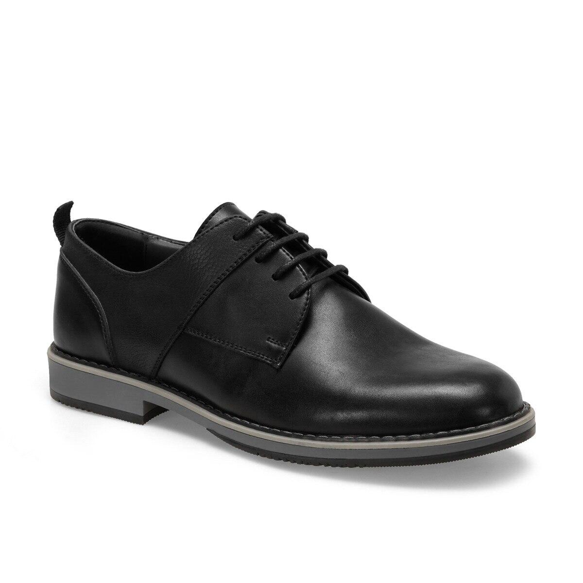FLO 71419 C Black Men Dress Shoes-Styles