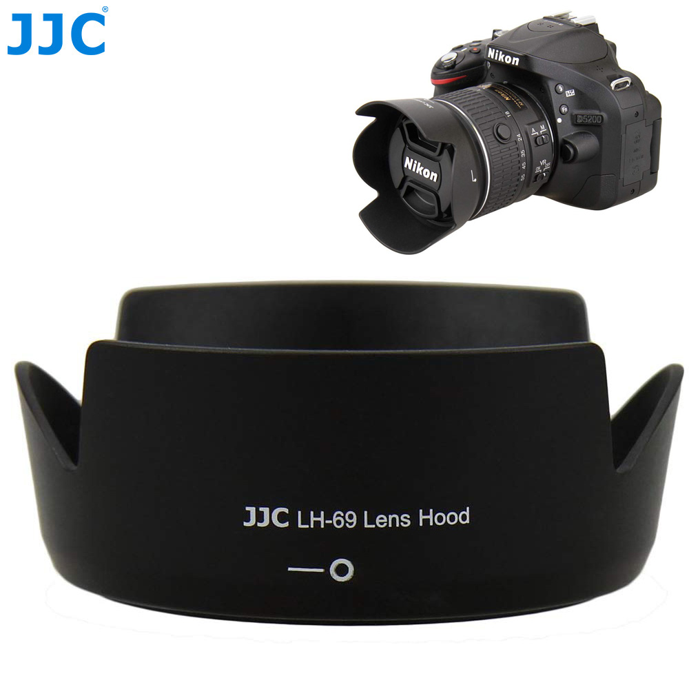 Katigan Professional HB-69 Camera Bayonet Lens Hood for AF-S DX NIKKOR 18-55mm f//3.5-5.6G VR II Lens
