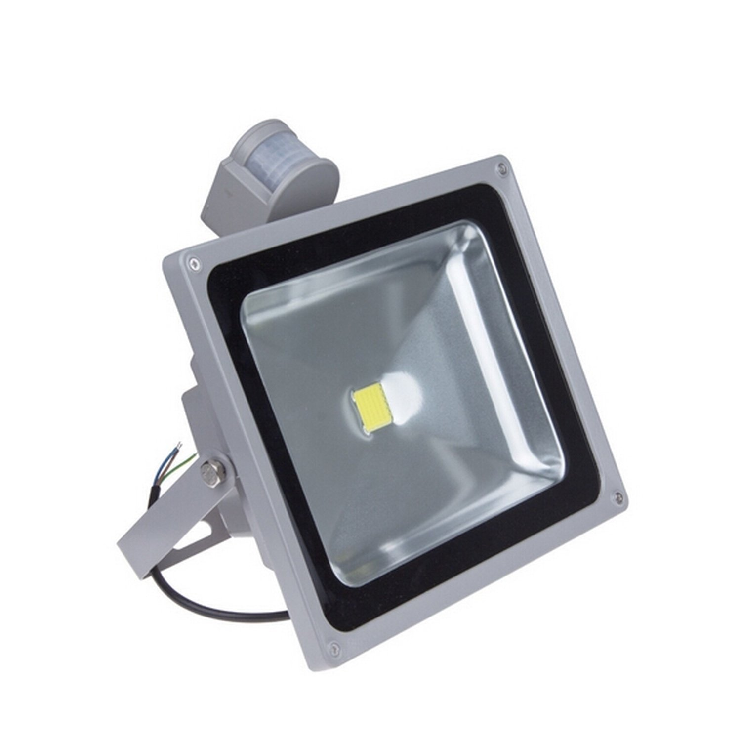 Waterproof outdoor Led lamp 50W 6000K cold white with movement sensor outdoor white inflatable car garage tent with blowers for sale