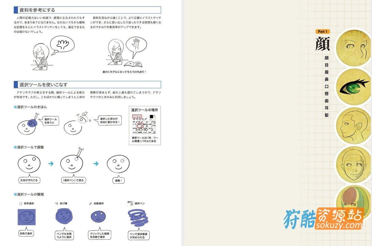 数码插画的身体描绘方法事典