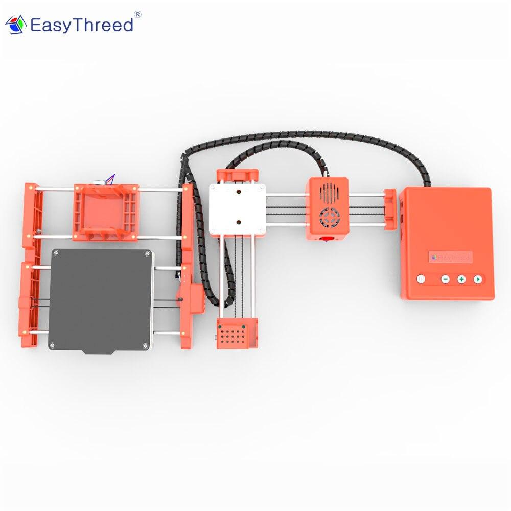 Easythree ed petite Mini Imprimante 3d pas cher PLA résine FDM Mini Impressora 3d brésil russe entrepôt impresora 3d Imprimante X1 - 4