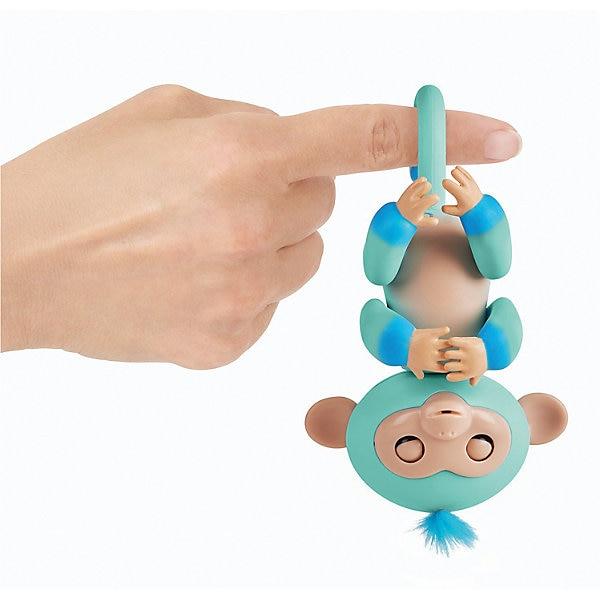 Interactive Monkey WowWee Fingerlings Eddie 12 Cm (blue)
