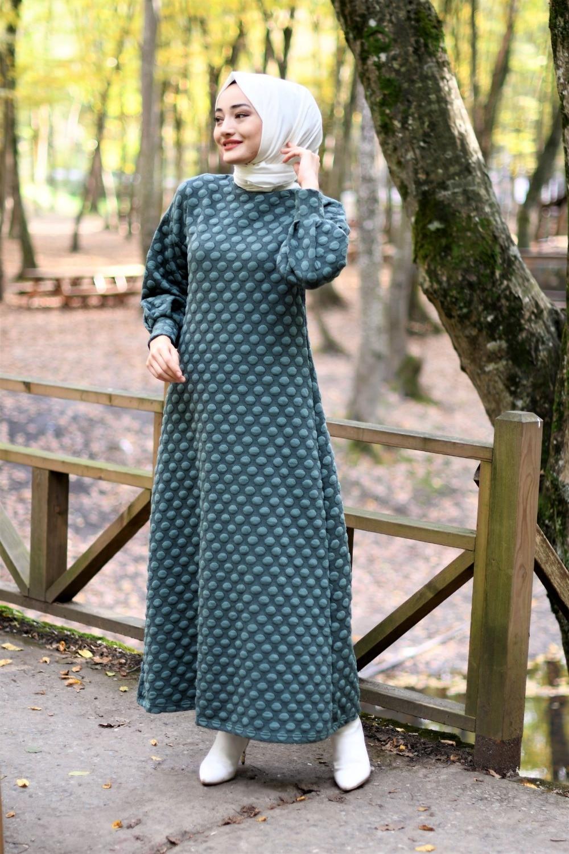 ponpon-detay-elbise-cagla-gunluk-tesettur-elbise-15562-45-B