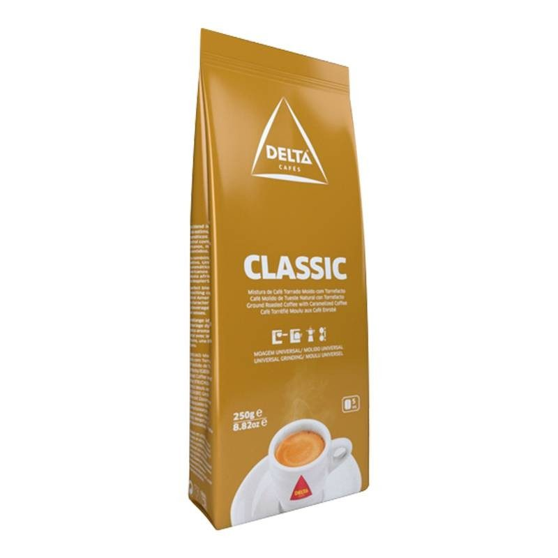 Coffee Classic, 250 gr. Ground coffee DELTA