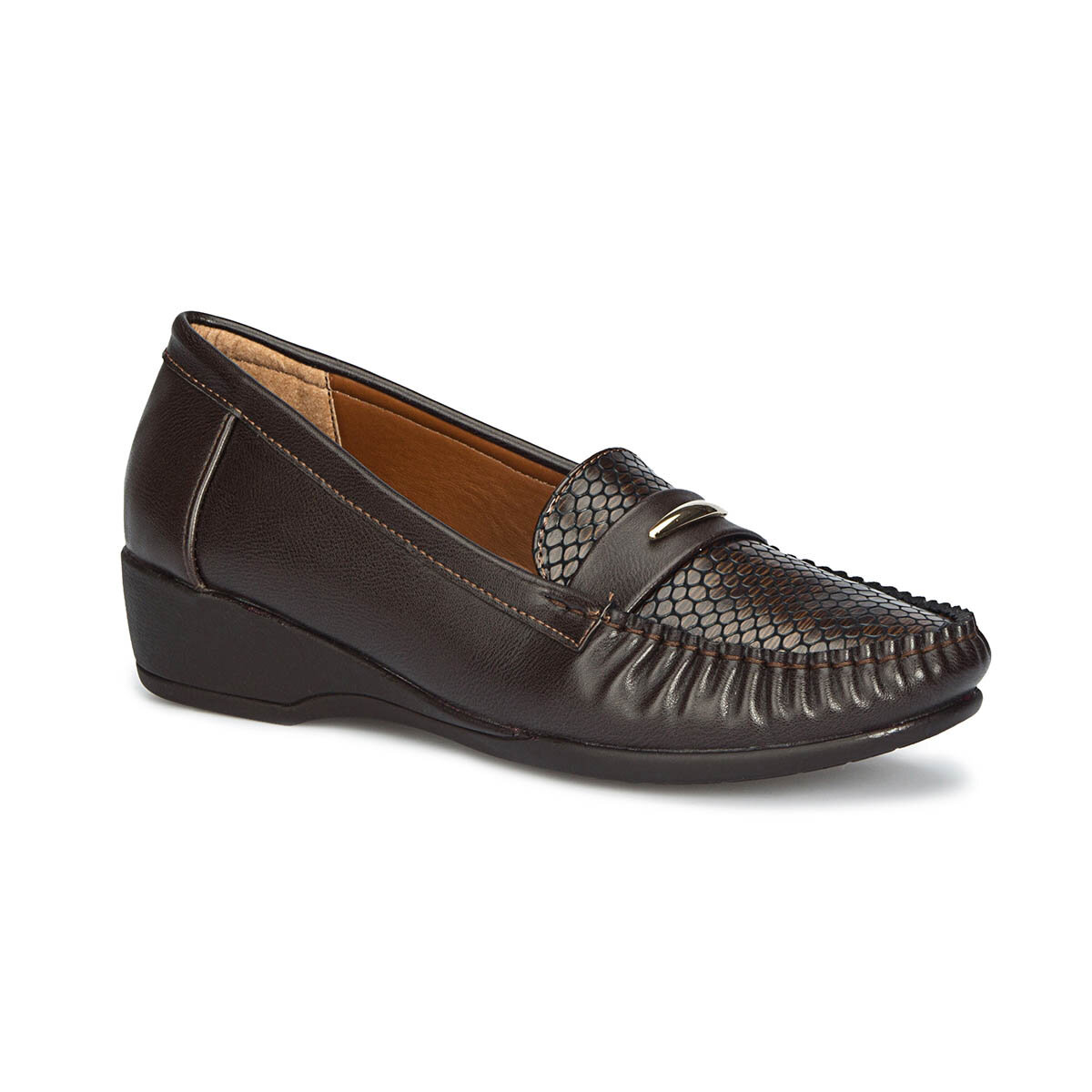 FLO 71.157282.Z Brown Women Loafer Shoes Polaris