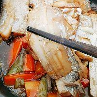 #太太乐鲜鸡汁芝麻香油#不用油煎的砂锅香焖带鱼的做法图解9