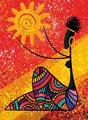 Новая головоломка 1000 шт солнце и африканские женщины-41059