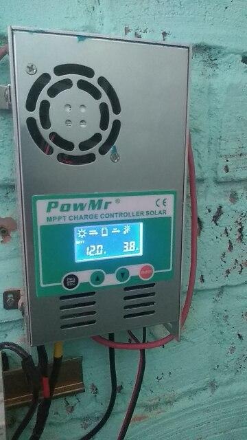 Controladores solares Regulador Bateria Painel