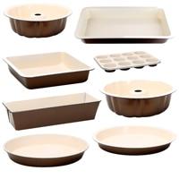Molde 12 muffin 35x26.5x3cm aço assar creme|Conjuntos de formas|   -