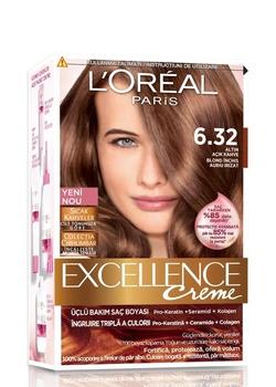 Loreal doskonałości farba do włosów 6 32 złote światło kawy 247229643 tanie i dobre opinie