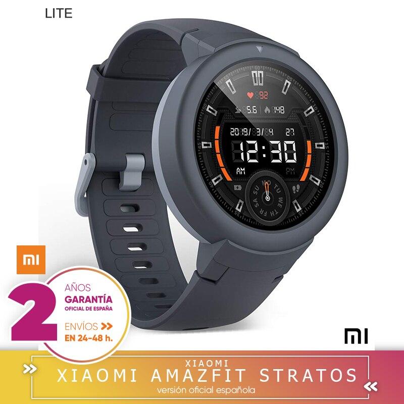 -Garantie officielle Amazfit en espagne-Xiaomi Amazfit Verge Lite Sports-batterie 20 h | GPS Smartwatch + GLONASS | capteur Frecu