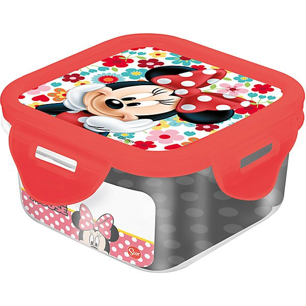 Plastic Container Stor Minnie Mouse 290 Ml