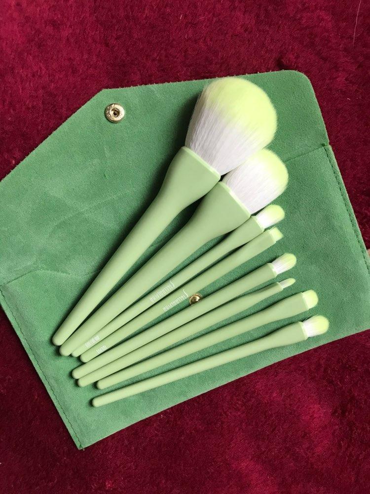 8PCS Makeup Brushes Sets Powder Foundation Blusher Eyeshadow Brush Candy Cosmetic Colorful Make Up NO MSQ LOGO With Bag reviews №1 62058