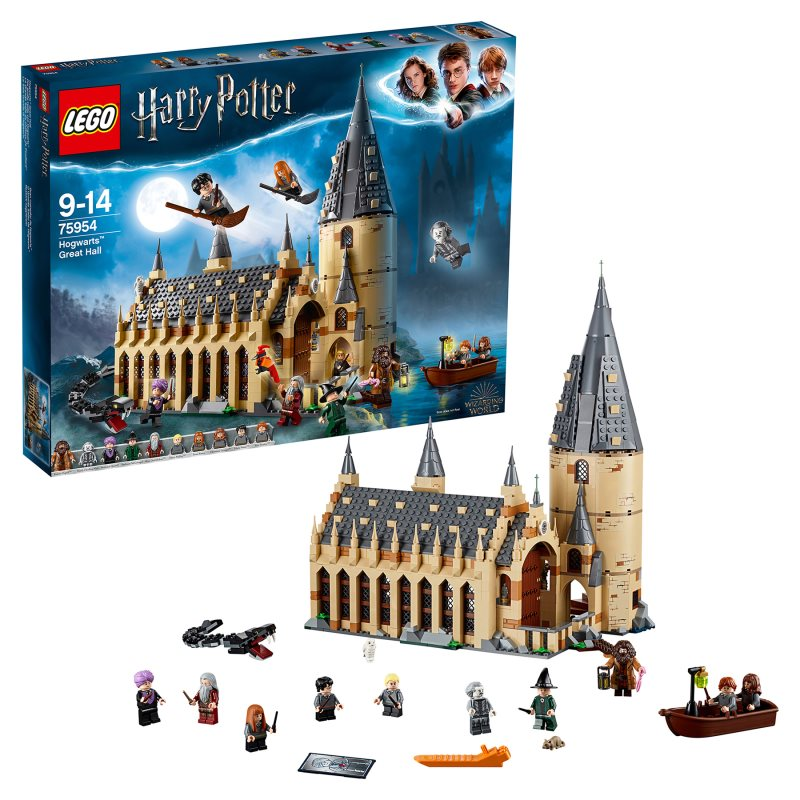 Designer Lego Harry Potter 75954 Large Hall Hogwarts