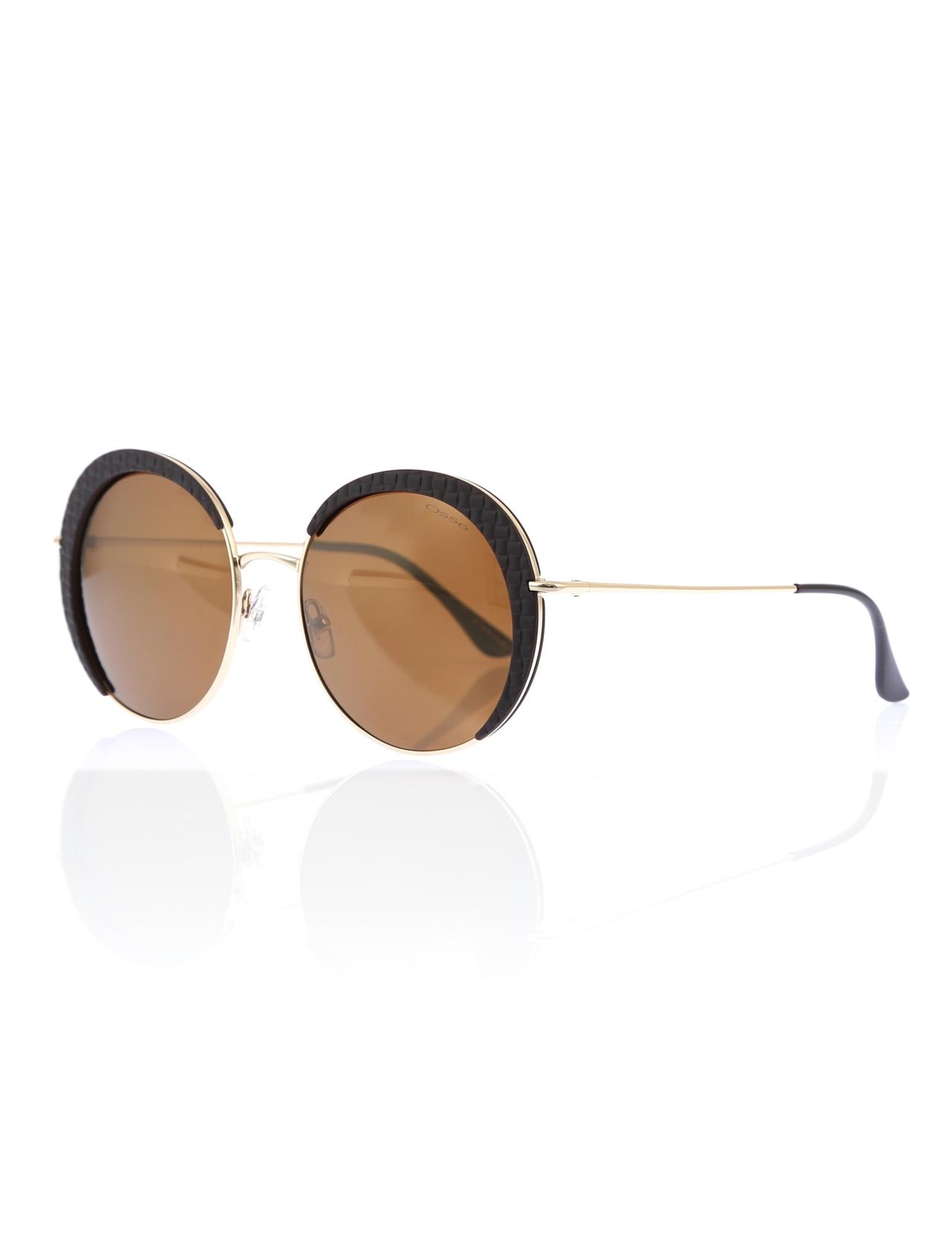 Women's sunglasses os 2936 02 metal gold organic round round 55-18-140 osse