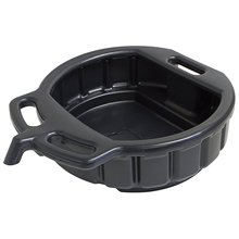 Black plastic tray oil drain collector 10 liter Car Tools