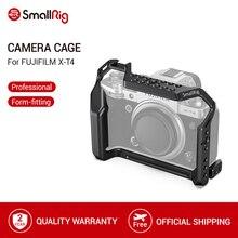 SmallRig X T4 Gabbia Fotocamera per FUJIFILM X T4 In Lega di Alluminio Gabbia Con Fredda Shoe Mount/Nato Fotocamera Ferroviario Video Accessori 2808