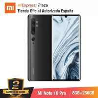 Mi Note 10 PRO (256 Гб ПЗУ с 8 Гб ОЗУ, Камара 108 МП, Android, Nuevo, Móvil)