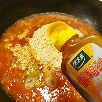 芝士泡面#太太乐鲜鸡汁芝麻香油#的做法图解10