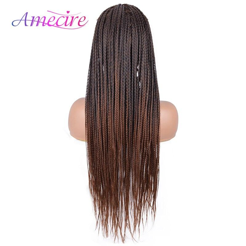 mulheres perucas trançadas longas perucas resistentes ao