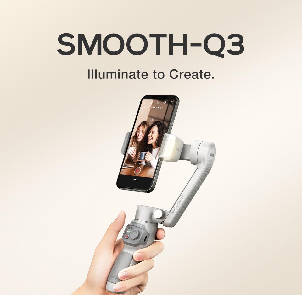 ZHIYUN Smooth Q3 3-axis Stabilizer 5