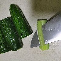 清新爽口腌黄瓜的做法图解2
