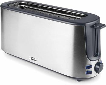 Lacor 69360 toaster with long slot, 1000 W, Steel stainless, silver [energy efficiency class A ++] недорого