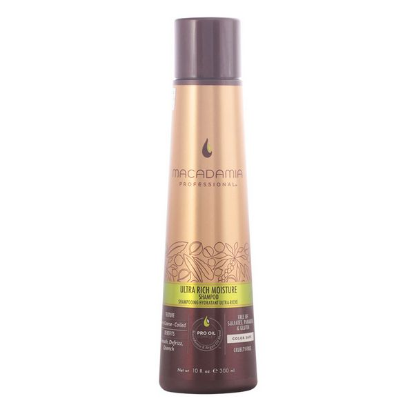 Moisturizing Shampoo Ultra Rich Macadamia (300 Ml)