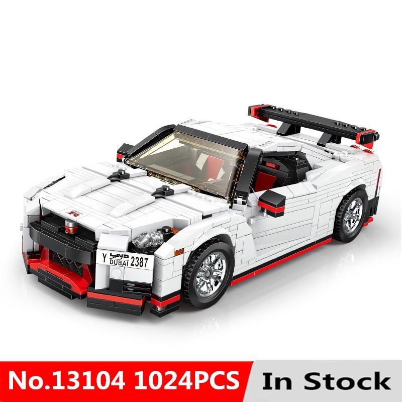 Creative Technic Moc Toys technic Car The 20518 GT R35 Racing Car Set Car Model Toys Kids Christmas Gifts Building Blocks Bricks