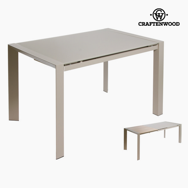 Grey Extending Table By Craftenwood