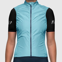 MAAP women's  cycling vest Bicycle windproof vest blue sleeveless quick drying bike Team Customized Clothing ropa ciclismo 2015 ciclismo vest