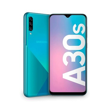 Перейти на Алиэкспресс и купить Samsung Galaxy A30s - Super AMOLED 6,4 дюймHD + - 4 Гб + 64 ГБ (+ microSD 512 ГБ)-25 + 8 + 5mp-экран отпечатков пальцев