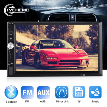 Vehemo Car Player Car MP5 MP5 Player 7 Inches 2 Din Universal Radio Multimedia Player USB Automobile Premium