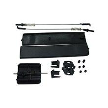 Bross Auto onderdelen BDP964 Side Schuifraam Glas Klink Cover Reparatie Set 7H0847788A, 7H0847781B, 7H0847785 Voor Vw T6 Caravelle